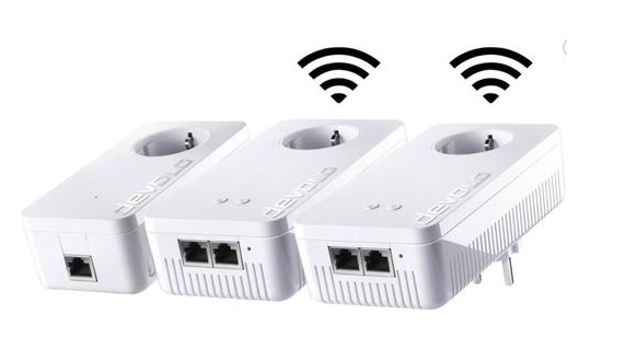 dLAN® 1200+ WiFi ac Network Kit (3 Adapter)