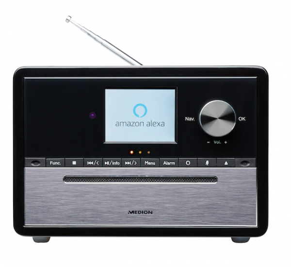 LIFE® S64007 All-in-One Audio-System mit Amazon Alexa - MEDION Sound-System